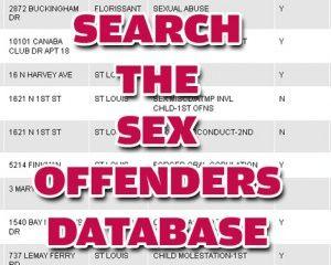 Louisiana laws regarding sex offenders