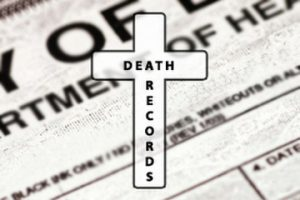 Search death records online