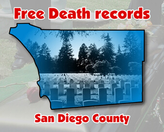 Free death records San Diego County