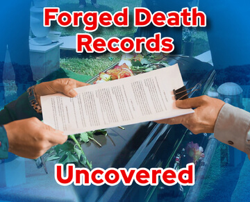 Forged death records
