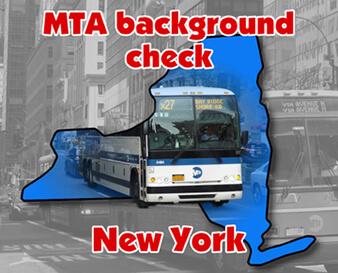 Verificación de antecedentes de MTA Nueva York