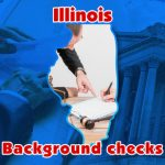 Illinois background checks almost double in March