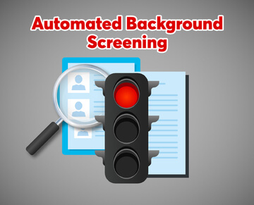 Automated background screening